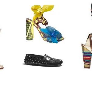 Trendy v obuvi jaro-léto 2012