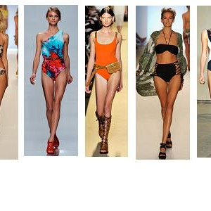 Trendy plavky: Léto 2012