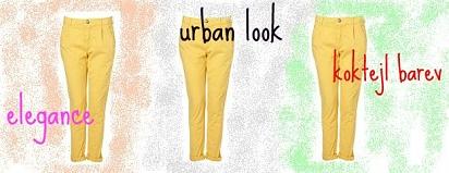 Jedny kalhoty - tři looky