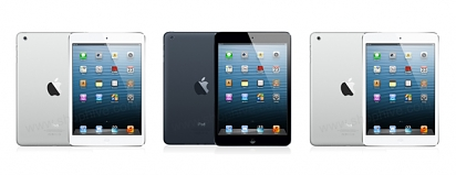 To je on. Váš nový iPad mini.