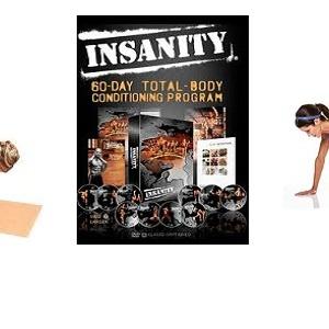 Fitness 2013 – posilování s vlastní vahou, TRX a Insanity workout