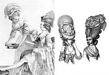 Dámské účesy v období baroka a rokoka