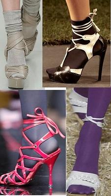55a3b22e1bdf Mýtus č. 4 – punčocháče nebo ponožky v otevřených lodičkách jsou módní faux  pas