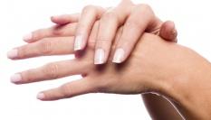 Prevence proti sta�eck�m skvrn�m na rukou