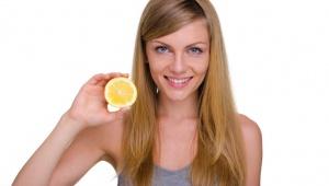 Citronov� k�ra pro lesk vlas�