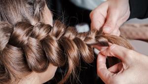 Z�skej hust� cop�nek z ��dk�ch vlas�