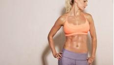 Posílení přímých břišních svalů