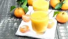 Mandarinkové smoothie plné vitamínů C a beta-karotenu