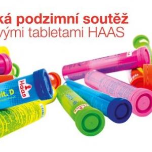 Velká podzimní soutěž: vyhrajte sportovní vybavení a zásoby šumivých tablet HAAS!