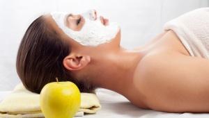 Maska proti akné s jablečným octem