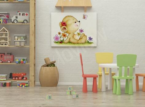 Obrazy do dětského pokoje: V zajetí tvarů a barev