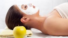 Antiseptická maska z jablek a skořice