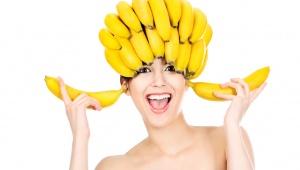 Hydratační banánová vlasová maska