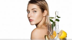 Ozdravná citronová maska proti lupům