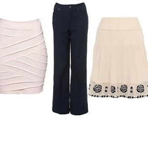 Kalhoty a sukně pro sezónu 2010/2011