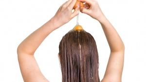 Vajíčková maska pro vitalitu vlasů