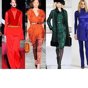 Trendy barvy pro podzim/zimu 2010/2011