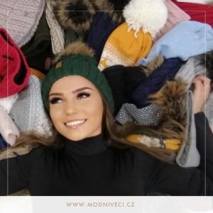 Čepice, šály a rukavice