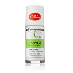 Antiperspiranty, deodoranty Alverde Sensitiv Deo Roll-on