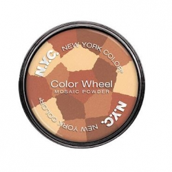 Tvářenky NYC Color Wheel Mosaic Face Powder