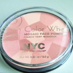 Tvářenky NYC Color Wheel Mosaic Face Powder - velký obrázek