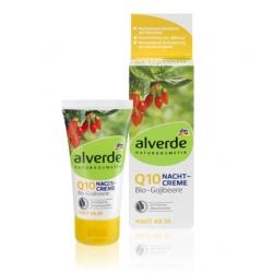 Alverde Anti-Aging noční krém Q10 s goji recenze a..
