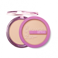 Pudry tuhé Gabriella Salvete Nude Powder With Argan SPF 15