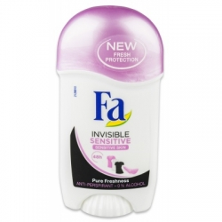 Fa  Invisible Sensitive tuhý antiperspirant