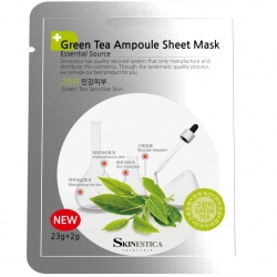 Skinestica Ampoule sheet mask Green tea