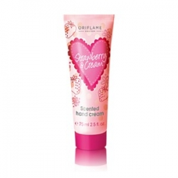 Krémy na ruce Oriflame Strawberry & Cream Scented Hand Cream