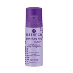 Top/base coats Essence Express sušící sprej