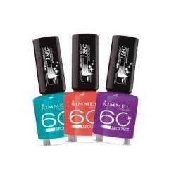 Laky na nehty Rimmel 60 Seconds Nail Polish