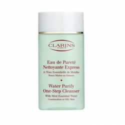 �i�t�n� pleti Clarins Water Purify One Step Cleanser Combination or Oily Skin - velk� obr�zek