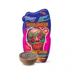 Masky Montagne Jeunesse Red, Hot Earth Sauna Face Masque