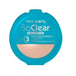 Pudry tuhé Miss Sporty So Clear Pressed Powder