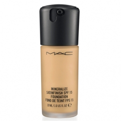 Tekutý makeup MAC Mineralize Satinfinish SPF 15 Foundation