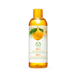 Masáž The Body Shop Spa Fit Toning Massage Oil