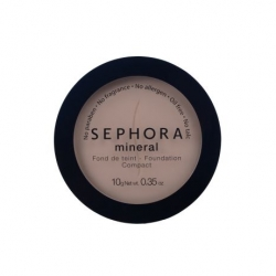 Tuhý makeup Sephora Mineral Foundation Compact