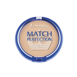 Pudry tuhé Rimmel Match Perfection Ultra Creamy Compact Powder