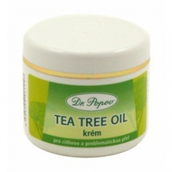 Hydratace Dr. Popov Tea tree oil krém