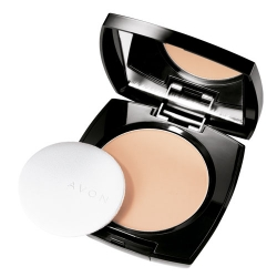 Pudry tuhé Avon Ideal Flawless Pressed Powder