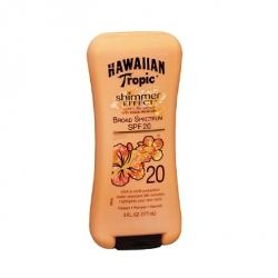 Opalovací krémy Hawaiian Tropic Shimmer Effect Lotion Sunscreen with Mica Mineral