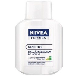 Holení Nivea For Men balzám po holení Sensitive