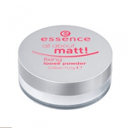 Pudry sypké Essence All About Matt! Loose Fixing powder