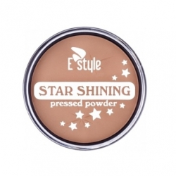 Pudry tuhé E style Star Shining Pressed Powder