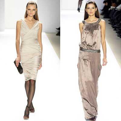 Вечерние длинные платья в моде весна-лето 2010.