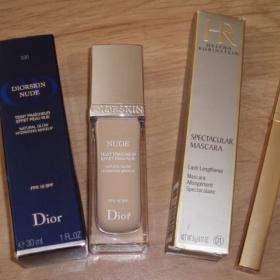 Make up Dior Nude + špirálu Helena Rubinstein - foto č. 1