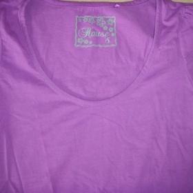 Fialové tričko značky House - foto č. 1