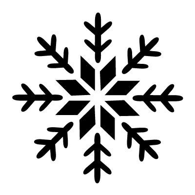 Sníh ve spreji šablony