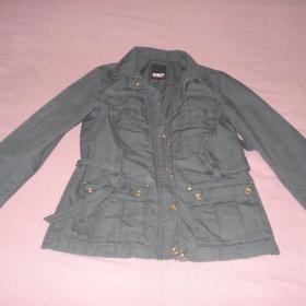 Šedá jarní bunda Esprit - foto č. 1